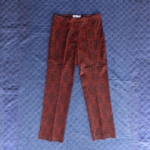 Vintage Paisley dress pant Size 12